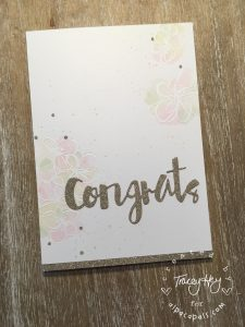 Congrats - inky flowers entire card small